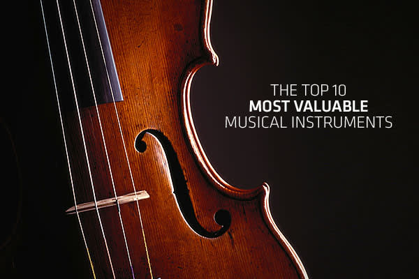 You might say these instruments are money to the ears of savvy collectors and investors. Musical instrument can be a valuable asset: guitars can sell for hundreds and thousands of dollars; violins in the millions. An instrument's worth is determined by its history and its rarity, so it's not unusual to see a Stradivari violin that was owned by Itzhak Perlman at the same auction as a partially melted electric guitar that Jimi Hendrix set on fire. It's also not unusual to see both instruments sell