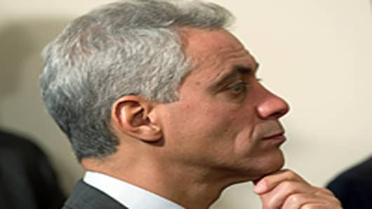 White House Chief of Staff Rahm Emanuel