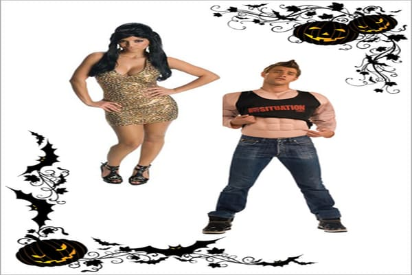 Suggested Price, Costumes: $24.99-$29.99 Wig: $16.99 Plenty of people will be rubbing on fake tans, teasing up their hair and donning costumes depicting Jersey Shore reality-show characters Snooki and the Situation this Halloween. So get ready to fist pump and G.T.L. (gym, tanning laundry)!