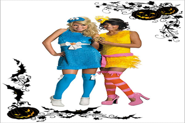 Suggested Price: $47.95-$58.99 Jakks Pacific's Disguise has taken a number of children's themes such as the Sesame Street characters and created costumes for various age groups. Pictured here are costumes for adults from their Fabulous Flirts collection.
