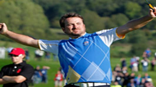 Europe Ryder Cup player Graeme McDowell.