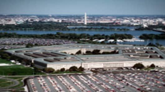 The Pentagon, Headquarters Of The Us Department Of Defense.
