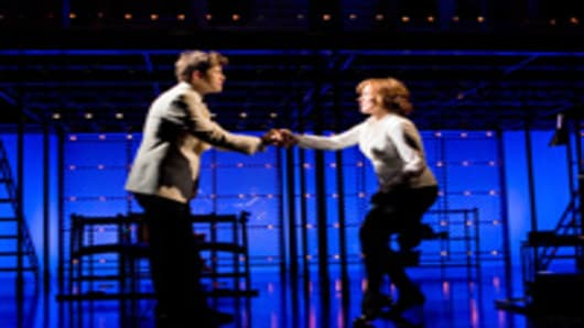 Aaron Tveit and Alice Ripley in Next to Normal