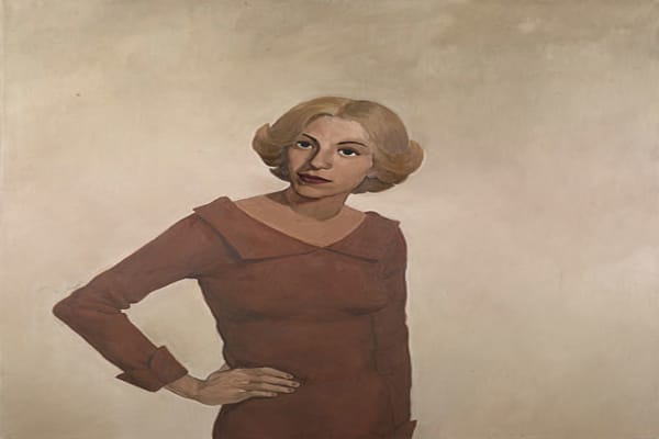 Artist: John Currin Sold for: $362,500 Estimate: $500,000-$700,000 Year: 1991