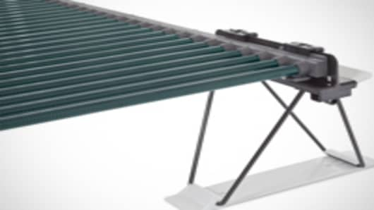 Solyndra 200 Series solar panels.