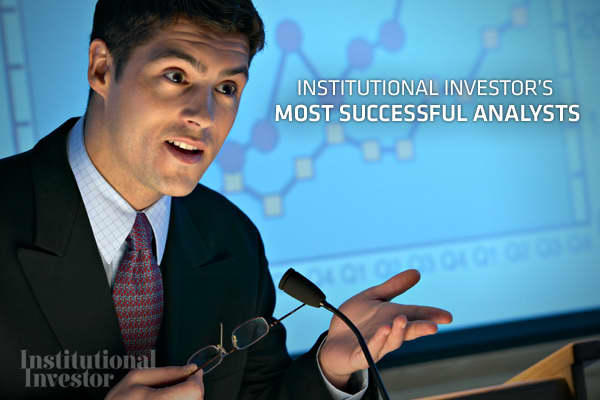 For the past 39 years, has surveyed research directors and chief investment officers at major U.S. money management firms to get their take on the best equity analysts in each sector. According to Institutional Investor, a spot on the All American Research Team (AART) can have a significant impact on an analyst's compensation, with members of the AART earning 2.4 times more in total compensation than analysts who were not ranked. But what is more impressive than being ranked is appearing on the