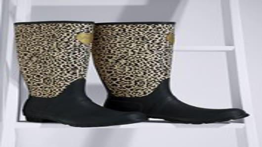 Victoria's Secret leopard boot