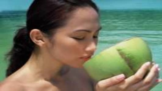 woman drinks coconut water_200.jpg