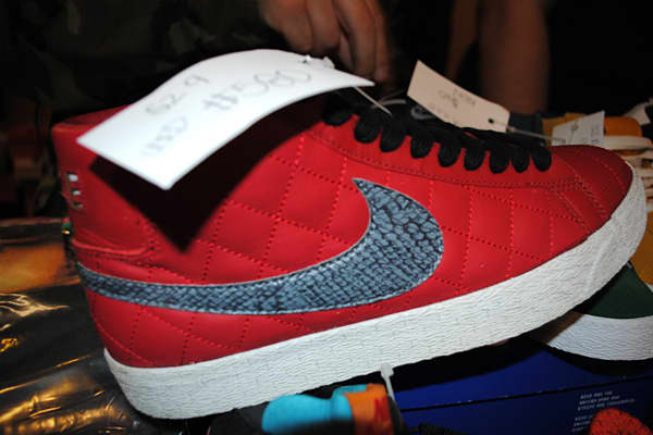 ": $580 When asked why these sneakers were worth close to $600, collector Shu Cheng from  gave two reasons: they're red and rare . ""It's over four years old,"" said Cheng. And the red matches with most colors, making them more appealing to collectors. ""Red brings that color out,"" he added."
