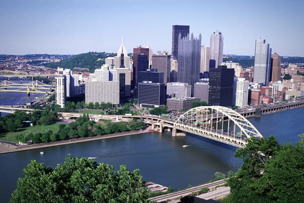 like Buffalo, has also made a major transformation from an industrial town – in Pittsburgh's case, steel -- into the 21st Century as a hub for education, health care and the arts. Yet, it's still surprisingly affordable: The cost of living is 12.2 percent below the national average and the average home price is $116,400, well below the national average of $171,700. It's repeatedly ranked as one of the most livable cities: The crime rate is low, it ranks high on both arts and colleges, and it's a