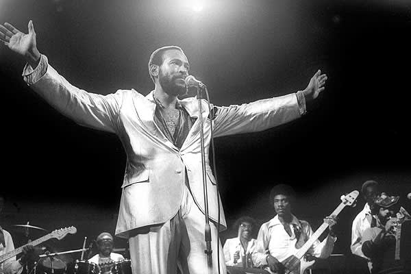 "The late Marvin Gaye is known as one of the greatest soul singers of all time, known for such classic songs as ""I Heard It Through the Grapevine"" and timeless albums like What's Going On. However, his love life didn't match the success of his singing career. His marriage to Anna Gordy was damaged beyond repair when he had an affair with a woman and fathered two children with her. Gordy filed for divorce, but Gaye had very little money for alimony and child support payments. Despite his impressiv"