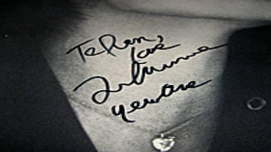 John Lennon Fantasy Signature