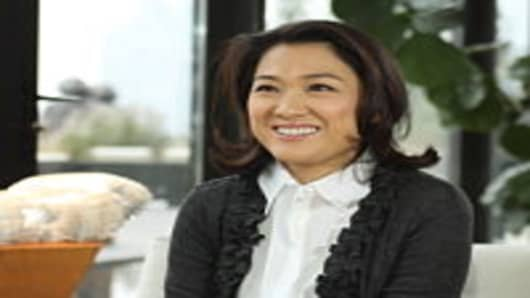 Zhang Xin, CEO of SOHO China, Beijing's largest real estate developer.