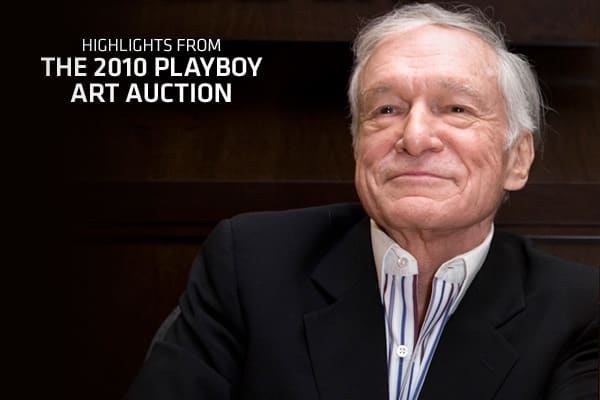 "Playboy and Christie's are coming together in Chicago on December 8 to auction off more than 125 works from the corporate collection of Playboy Enterprises. Although this auction - aptly titled Year of the Rabbit--features some iconic pieces, the collection's curator describes it as the ""tip of the iceberg,"" with over 5,000 pieces owned by Playboy. In an interview with the Associated Press, Hefner said that ""Playboy helped to change the very direction of commercial art — breaking down the wall b"