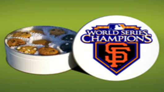 Mrs. Fields Cookies MLB Giants