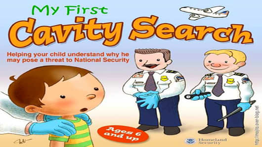 cavity search kids book