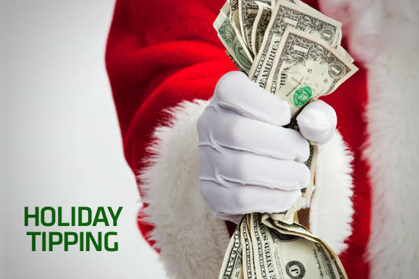 Holiday tipping time is upon us again, and if you're looking for advice on how much to give, and to whom to give it to, we've got it covered — no tip required. We asked several etiquette experts how much to give, averaging them out to get our numbers. But experts stress that if you can't afford to give cash, then don't. In most cases a note explaining your situation and thanking them for their work along with homemade cookies can be enough. Click ahead to see who gets what.