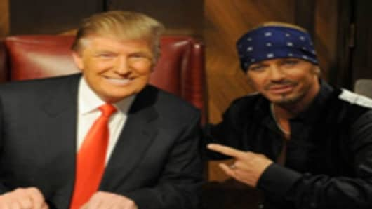 Donald Trump and Bret Michaels
