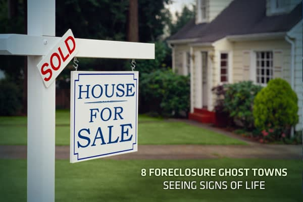 "Although the credit crisis took a toll on the entire US economy, some towns and cities have been hit significantly harder than others, plagued by foreclosures and dropping home values. While most of these cites – centered in California, Nevada and Florida - remain in bad shape, there are signs that some of these foreclosure ""ghost towns"" are experiencing price stability, and even coming back to life. Real estate website noticed trends in their third quarter data, with many of the most hard-hit U"