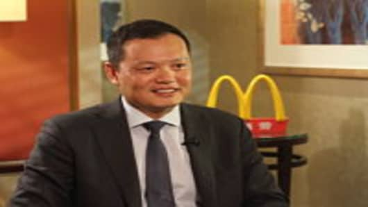Kenneth Chan, CEO of McDonald's China