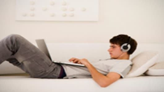 teen laptop headphones