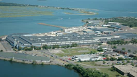 Point Stratford, in Connecticut, formerly known as the Stratford Army Engine Plant.