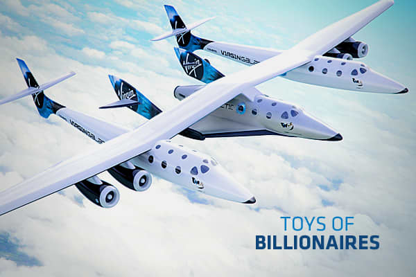 Billionaires have it all – from fancy homes to exotic cars. But they also have some of the coolest toys. When you have that much money, you can pretty much fulfill whatever childhood fantasy you want – from riding in the Batmobile to rocketing into outer space. Click through to see some of the most awesome Toys of Billionaires.