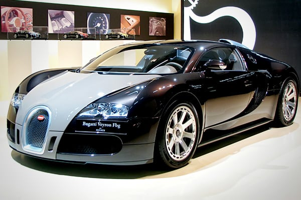 No matter how old you are, you never lose that need for speed. The Bugatti Veyron EB 16.4, designed by Volkswagen, holds two world titles: It's the most expensive car at $1.25 million but what your inner eight-year-old will be more impressed with is that it's the fastest road-legal car in the world. Named after French race-car driver Pierre Veyron, this car can go from zero to 60 in 2.5 seconds. The Super Sport edition can reach a top speed of 267 mph, and is Guiness-certified as the fastest car