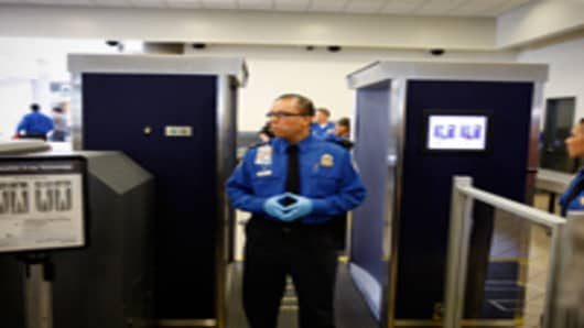 TSA Xray machines airport
