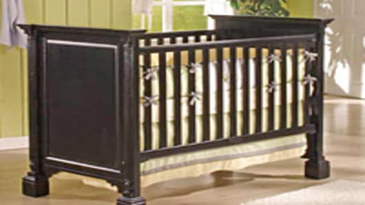 Drop Side Crib recalled by Jardine Enterprise
