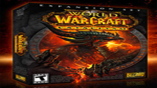 World of Warcraft Cataclysm Box