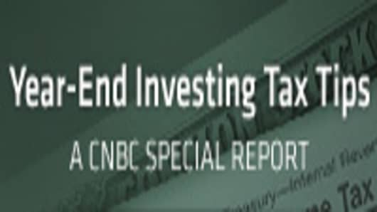 Year-End Investing Tax Tips  -  A CNBC Special Report