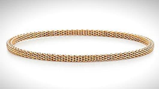 Tiffany Somerset bangle retails at $1,350 on tiffany.com