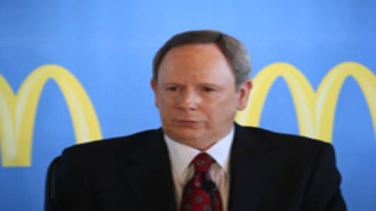 McDonalds CEO Jim Skinner