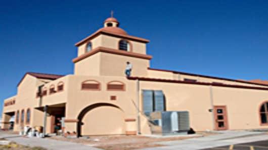 San Miguel Archangel Catholic Church, in Texas. Photo by Cindeka Nealy/Reporter-Telegram.