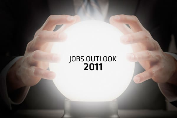 "Companies are busting out of safety mode and cost-cutting mode and shifting into gear for growth in the new year. What does that mean for the job market? ""In 2010, we saw steady, gradual increases in jobs across sectors,"" said Matt Ferguson, CEO of CareerBuilder.com. ""2011 will be a better year for jobs … as business leaders grow more confident in the recovery,"" he said. It's not going to be a job boom, but there will be steady growth in hiring. One in four hiring managers said they plan to hire"