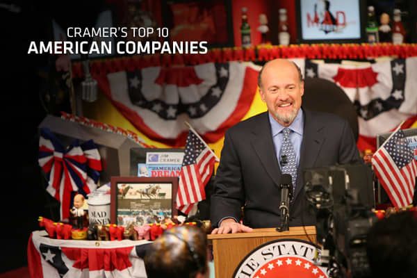 "The theme of ""Investing in America"" is a concept fully endorsed by Mad Money. Cramer ran a series with the same name back in December 2009, updated his list in September 2010 and is now  But aside of Ford, who else makes Cramer's list of top American companies? We're rerunning the story for you now, with one small but significant update, because while there's a ton of doom and gloom from analysts and the press about the U.S. economy, these manufacturers are thriving right now.""We are witnessing"