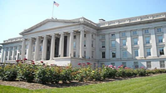 U.S. Department of Treasury headquarters in Washington, D.C.