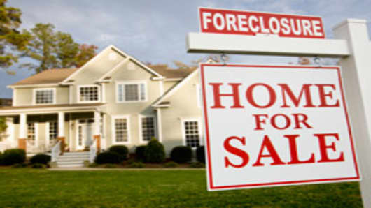 Home in foreclosure.