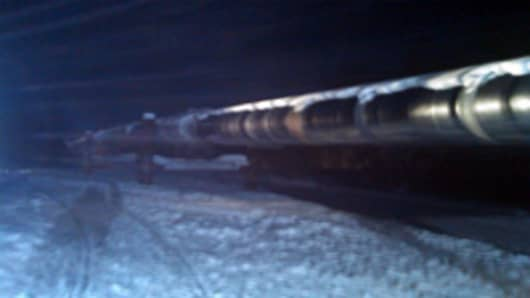 Trans-Alaska Pipeline near Fairbanks