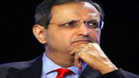 Citibank's Chief Executive Vikram Pandit