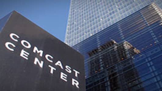 Comcast corporate headquarters in Philadelphia, Pennsylvania.