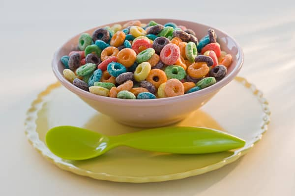 With sales just below $7 billion at supermarkets in 2009, this category eked out a 0.6 percent sales increase on flat volume growth for the year. But cereal remains a top seller among supermarket products. In June 2010, Kellogg edged out General Mills as the top vendor, with sales shares of 32 percent and 30 percent respectively.