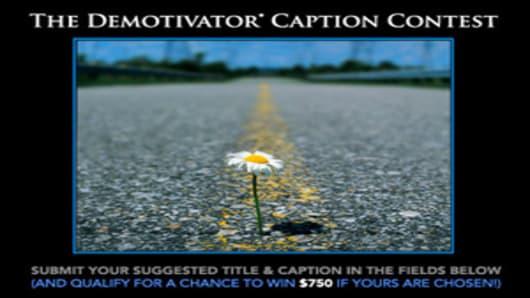 The Demotivator Caption Contest
