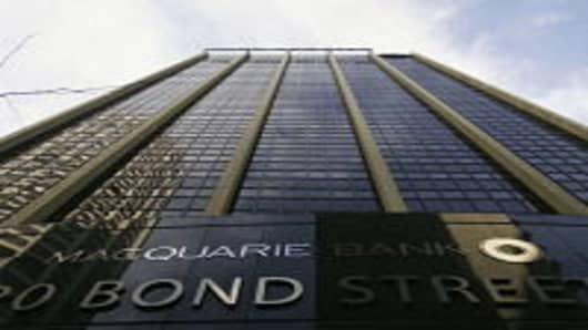 The Australian headquarters for Macquarie Bank are seen June 23, 2006 in Sydney, Australia. Macquarie Bank has begun analyzing bookwork of England's largest port operator, Associated British Ports (ABP), prior to making a possible bid next week.