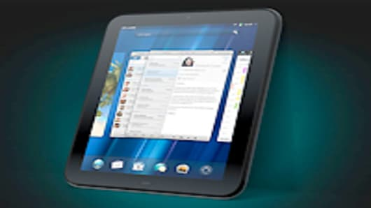 "HP 9.7"" Touchpad"