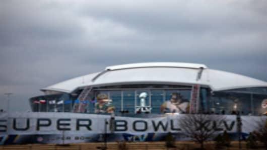 Super Bowl XLV at Cowboys Stadium