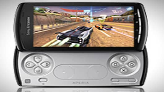 Sony Ericsson has unveiled Xperia, the PlayStation phone.