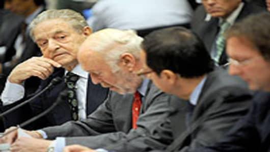 George Soros, chairman of Soros Fund Management LLC