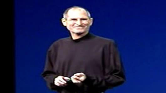Steve Jobs at iPad 2 launch